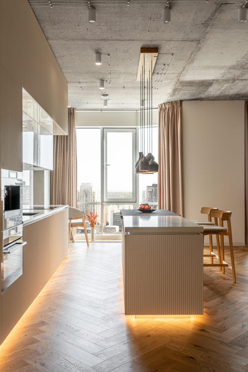 Kuchyň s výhledem
