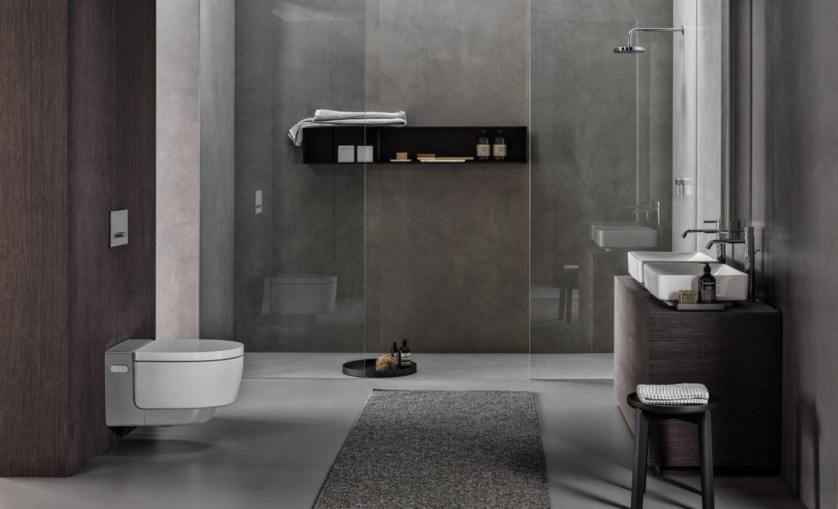Maximální hygiena se sprchovacím WC