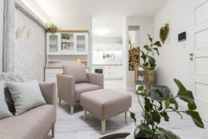 Obývací pokoj rostlina