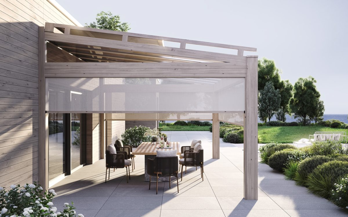 Zastřešená terasa prostor k bydlení
