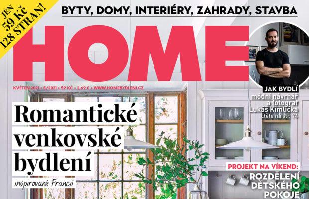 Květnové vydání HOME je právě v prodeji!