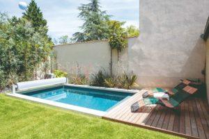 bazén terasa