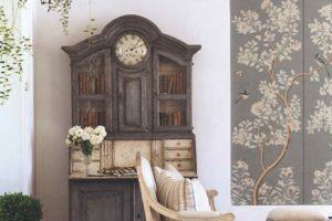 Sekretář židle romantický styl