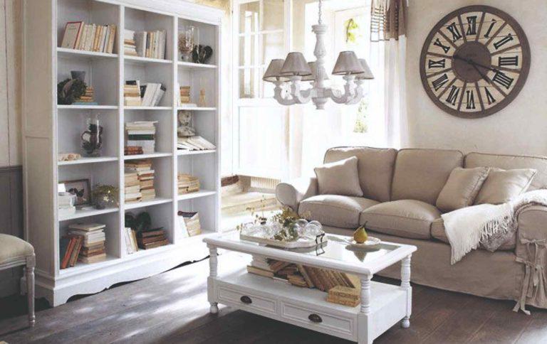 Jak si zařídit obývací pokoj v provensálském stylu