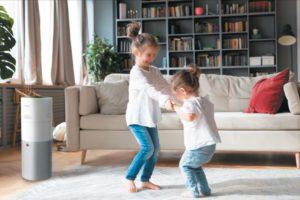 Čistý vzduch v domácnosti děti