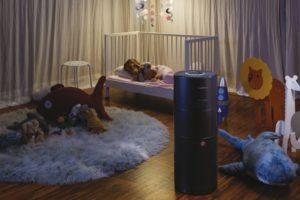Čistička vzduchu v dětském pokoji