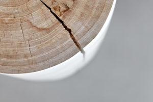 Drevěný stolek pařez
