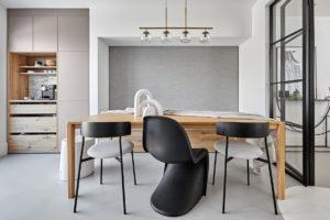 Dizajnové židle jídelna