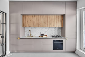 Kuchyň pastelová
