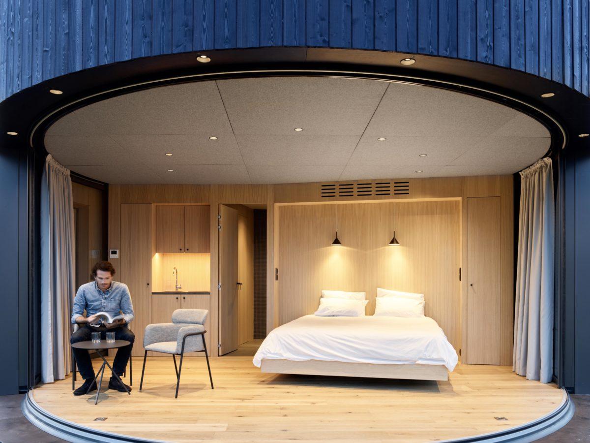 Minichatka interiér