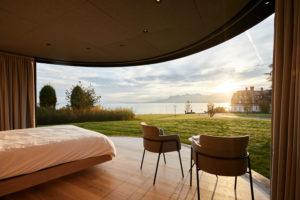 Chatka s panoramatickým výhledem