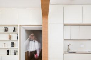 Kuchyň a obývací část