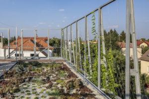 Střecha záhradka