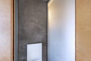 Toaleta beton.