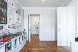 Vestavěná skříň dětský pokoj