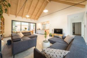 Obývací pokoj krov