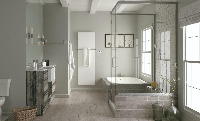 Dizajnový radiátor koupelna moderní
