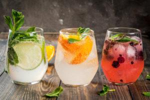 Tři drinky s ledem