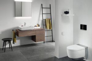 Bílá koupelna jednoduchá