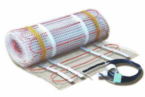 Elektrické podlahové vytápění rohože