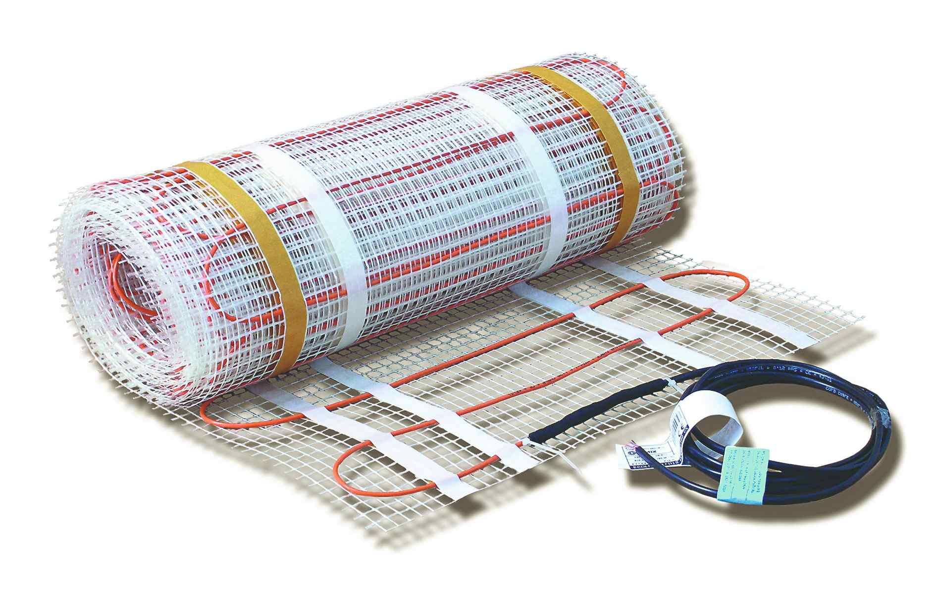 Vytápěcí kabely a rohože
