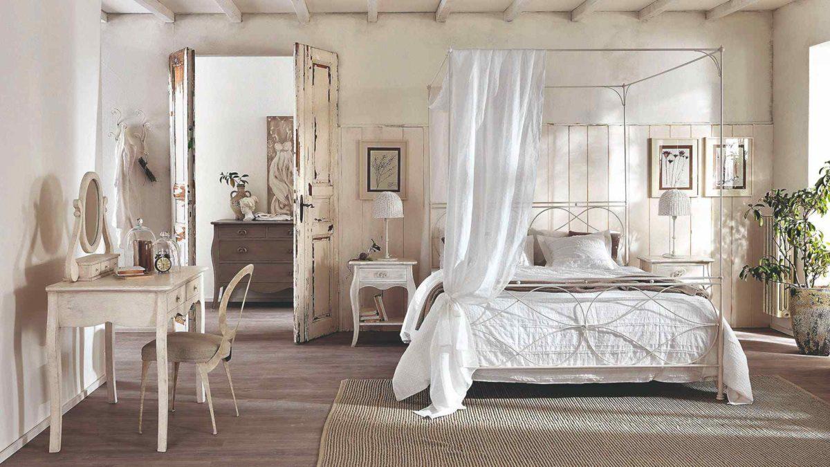 Jak si zařídit ložnici v provensálském stylu