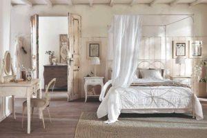 Ložnice v provence stylu