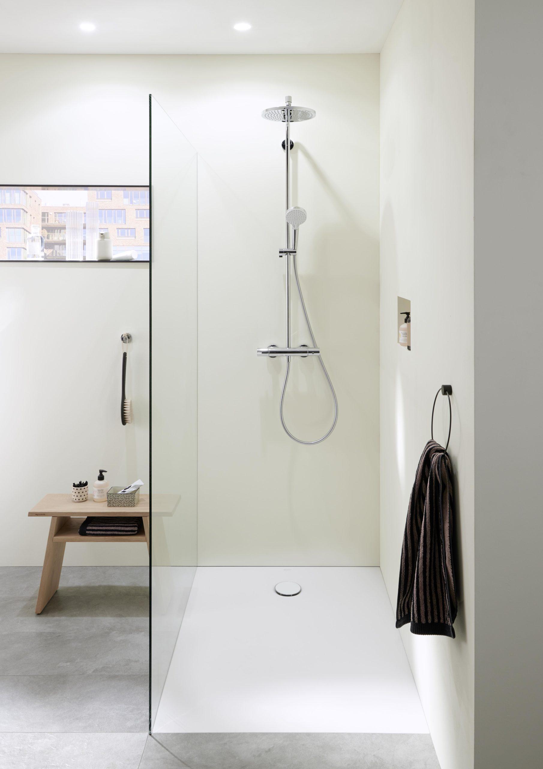 Sprchový kout bílý