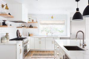Kuchyň v minimalistickém stylu