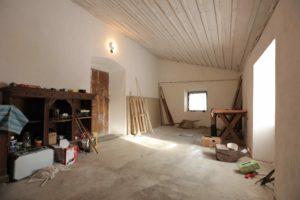 Původní stav chalupy ložnice