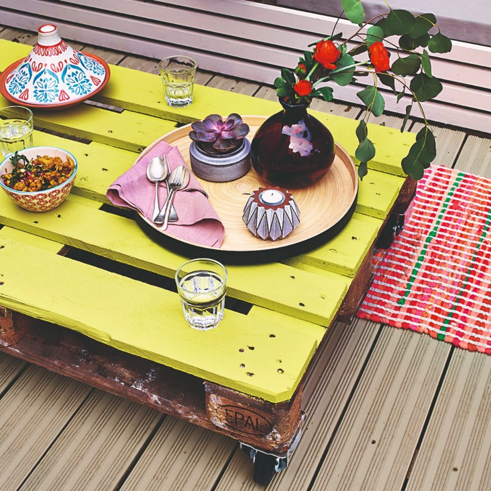 Paletové stolování