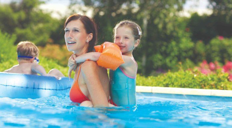 Perfektní bazén a křišťálová voda za pár minut!