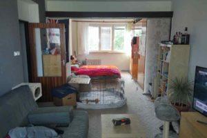 Původní stav panelákového bytu