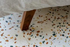 Terazzo podlaha detail