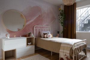 Dětský pokoj s pastelovými doplnkami