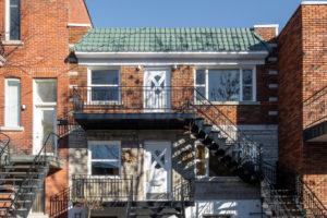 Třípodlažní dům v Montrealu