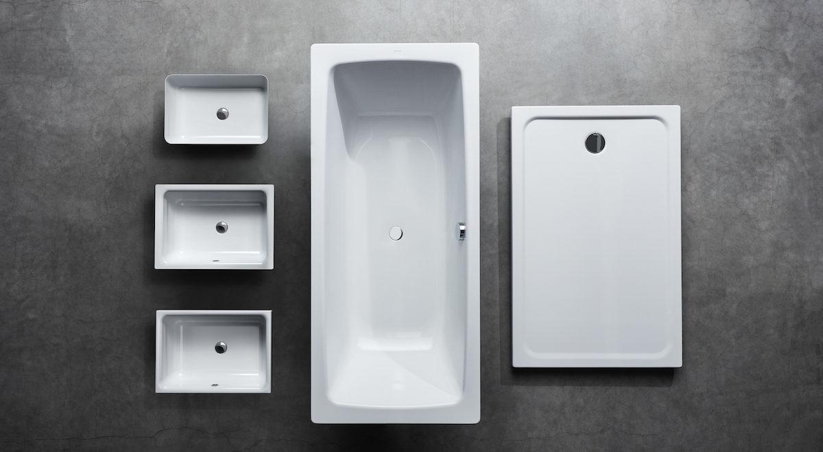Dokonalá souhra pro každou koupelnu: Kaldewei doplňuje produktovou řadu Cayono