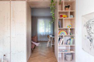 Dětský pokoj s nábytkem na míru