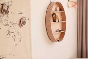 Drevěné dekorace na steně