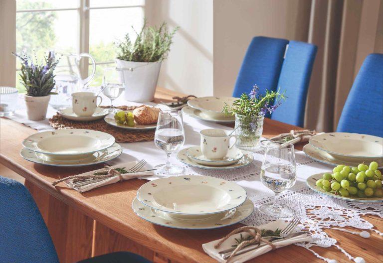 Jak si zařídit jídelnu v provensálském stylu