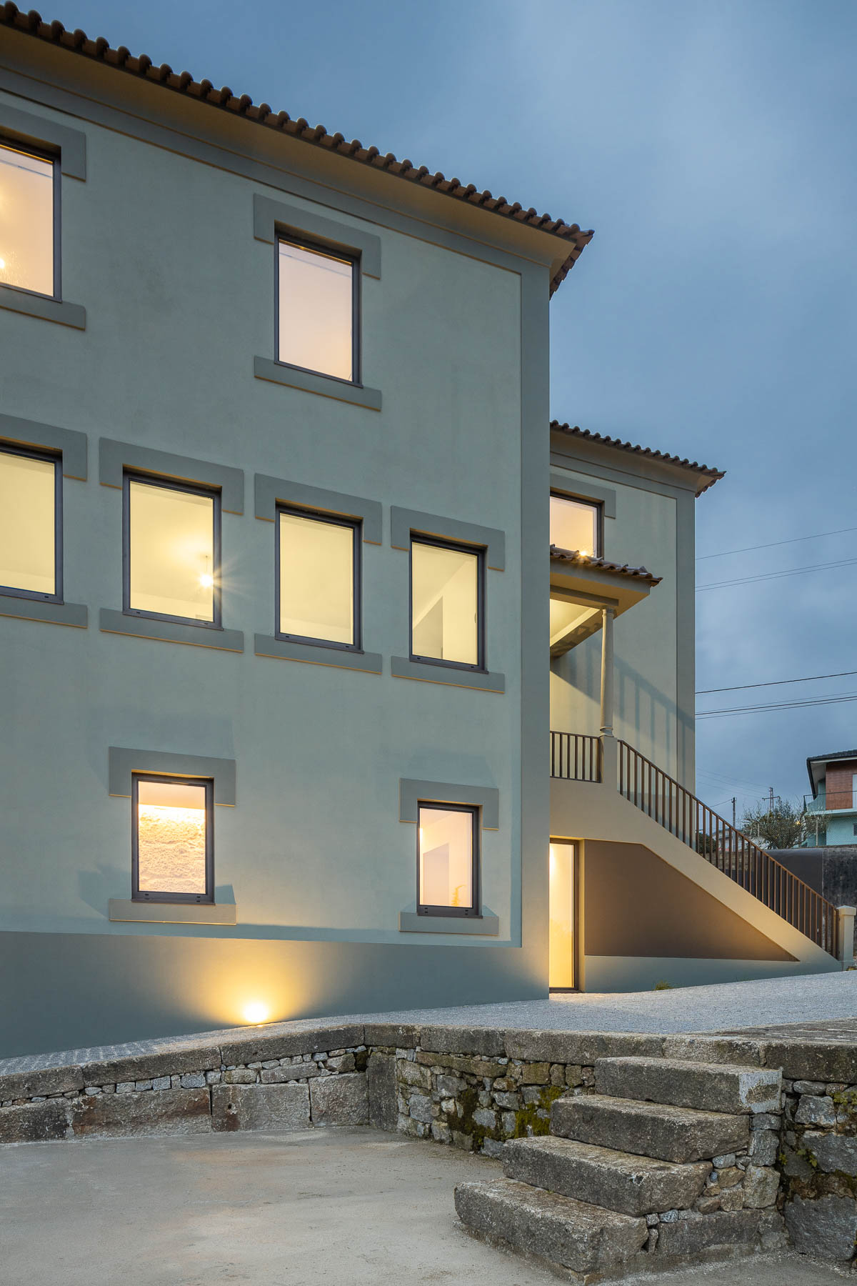 Casa Verde reabilitação em Santo Tirso da Arquitecta Liliana M