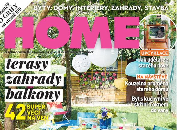 Letní dvojčíslo časopisu HOME je v prodeji