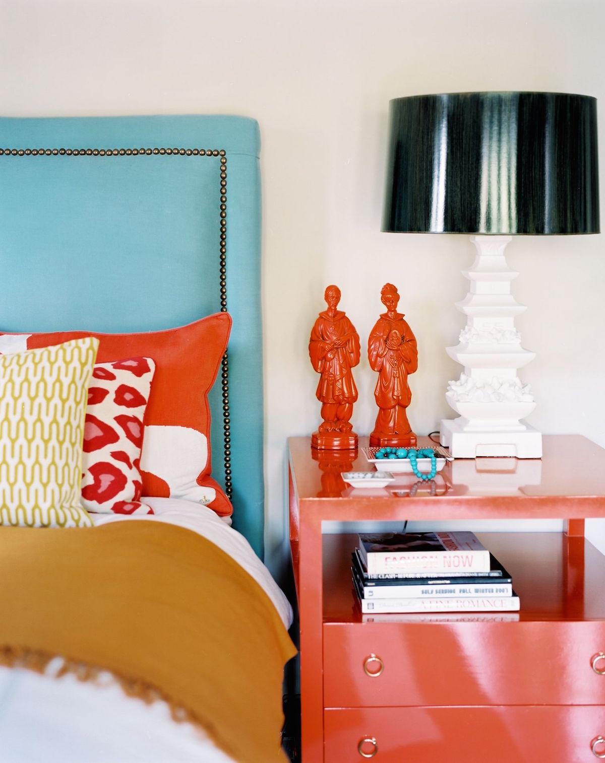 Ložnice v eklektickém stylu