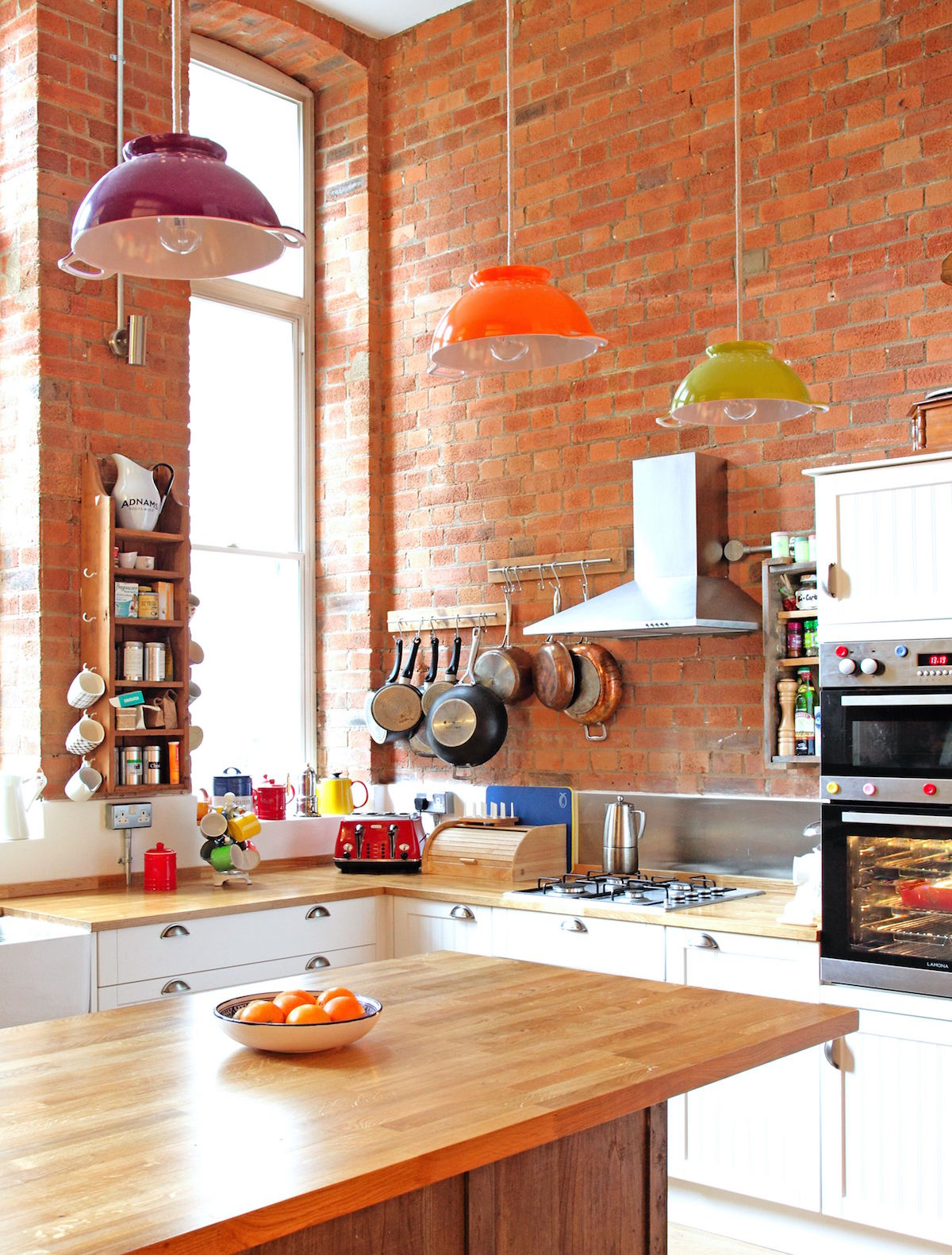 Kuchyň v eklektickém stylu