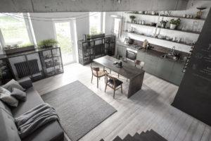 Kuchyň v industriálním stylu