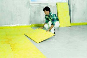 Skladba podlahy