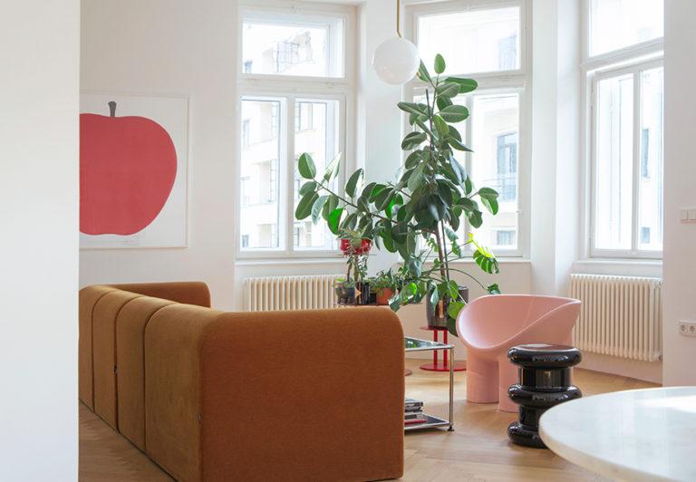 Jak si poradit s průchozími pokoji v bytě se špatnou dispozicí