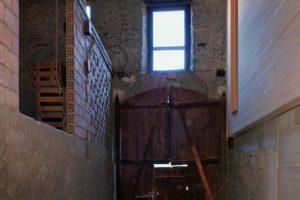 Původní a nová část stodoly