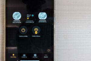 Mobilní aplikace k Mobile Hut