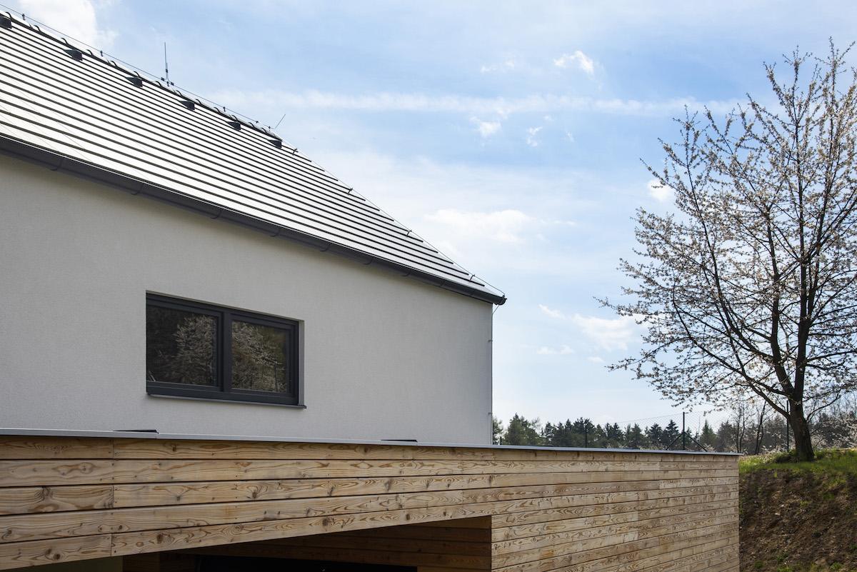 Rodinný dům se sedlovou střechou
